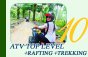 ATV Top Level and Rafting and Trekking