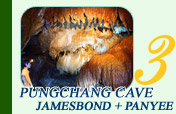 Pungchang Cave and James Bond and Panyee Island
