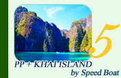 PP Island Maya Bay and Khai Island