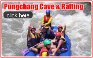 Pungchang Cave and Rafting