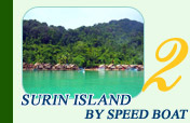 Surin Island Day Trip by Speed Boat