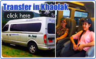 Transfer in Khaolak